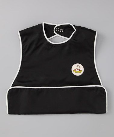 Take A Look At This Black Slide Bib By Neatnik Saucer On Zulily