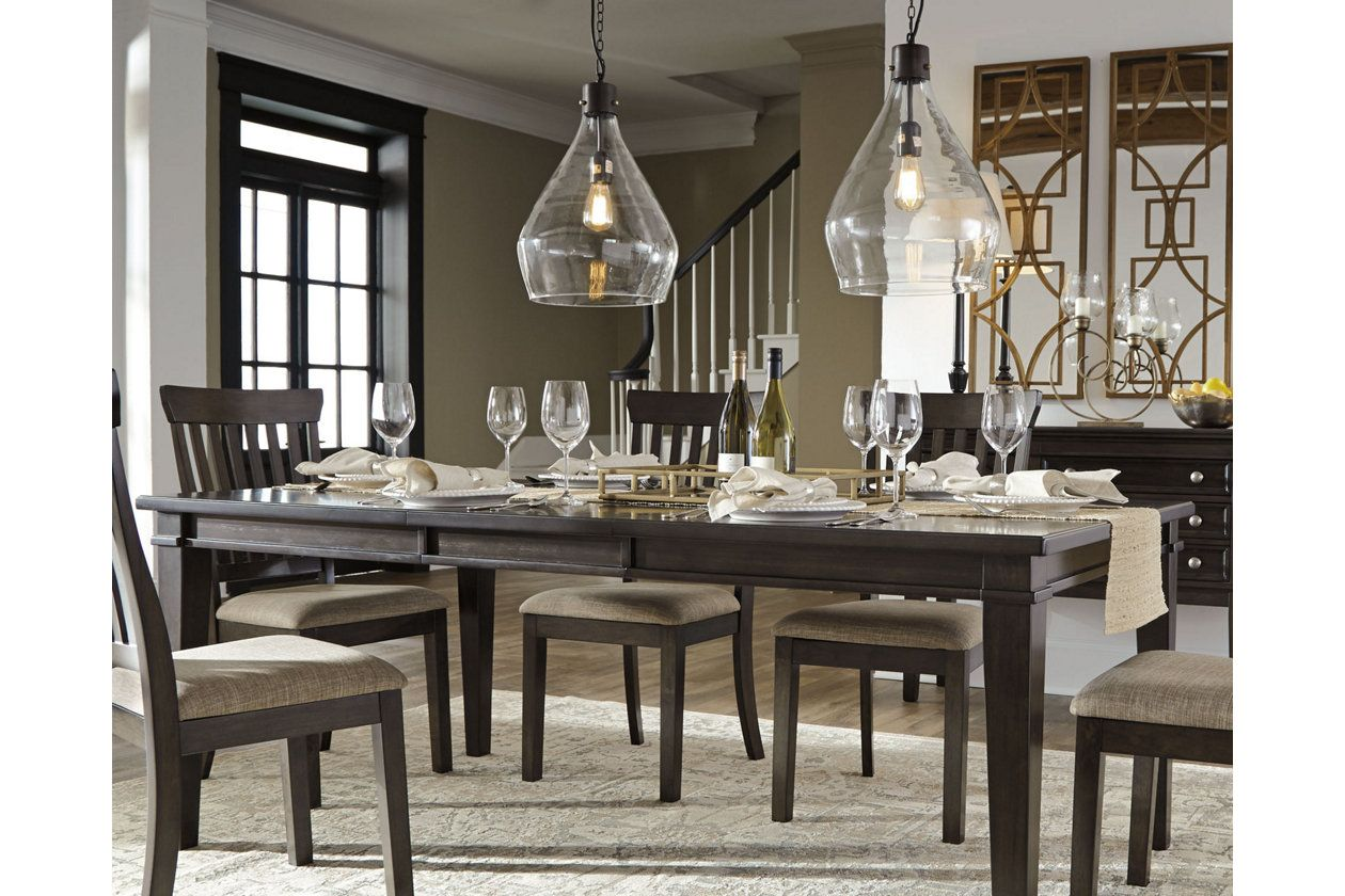 Alexee Dining Room Extension Table In 2019 House Dining Room