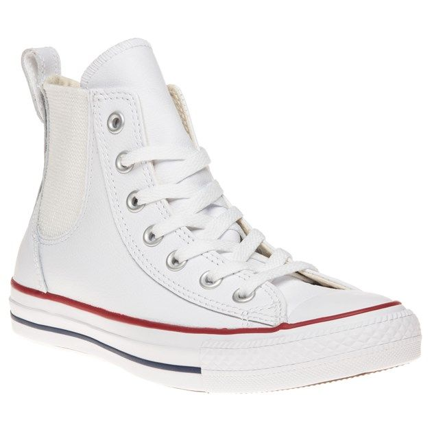 d58108e76a1 You ll never lace up another pair of Chuck Taylor All Stars again with this  new white Chelsea style from Converse.