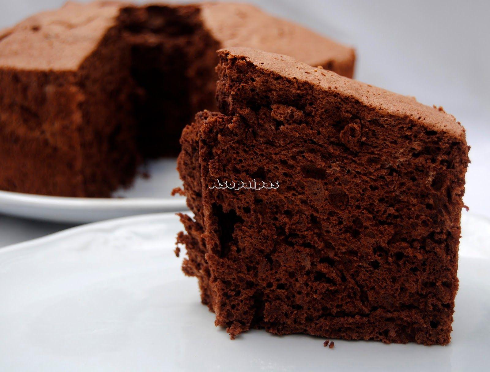 BIZCOCHO DE CHOCOLATE, Angel Food. ASOPAIPAS | 35. Rep. Chocolate ...