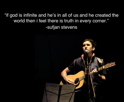 Between hipsters and God there is Sufjan Stevens | Sufjan ...