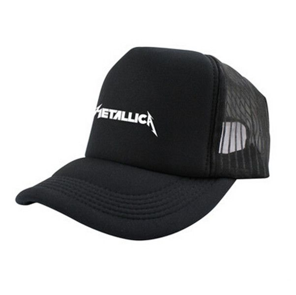 b5279bfffd720 Heavy metal band Metallica baseball cap for men black