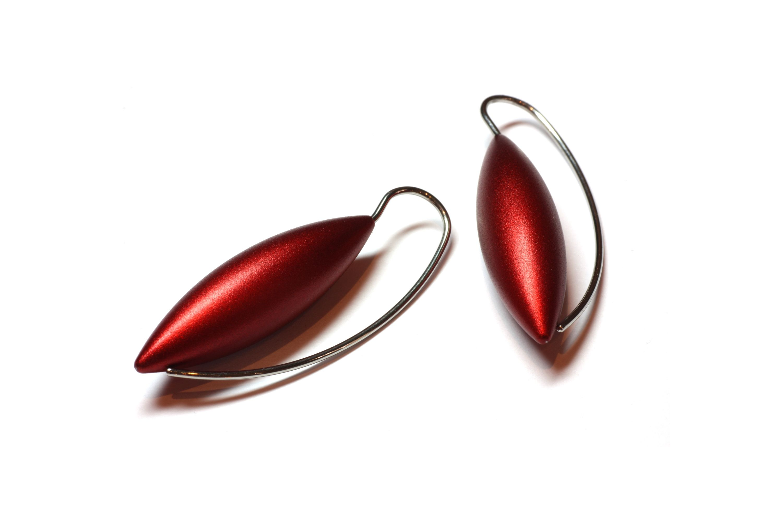 Juicy red earrings, www.stonechatjewellers.ie