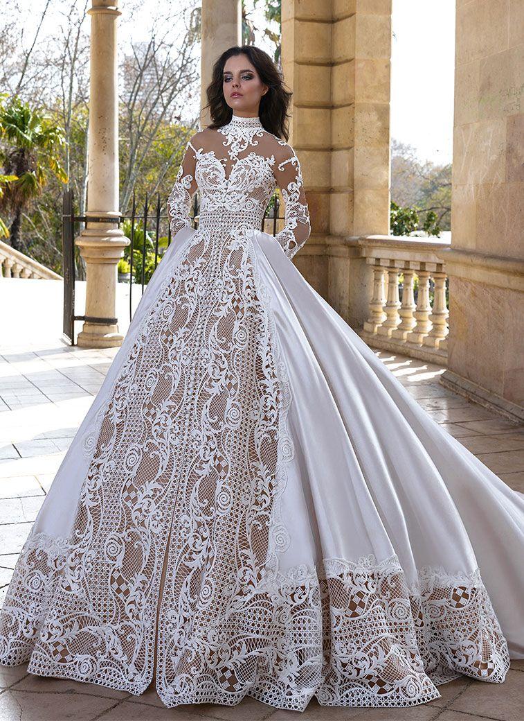 Crystal Design Wedding Dresses - Barcelona Campaign Bridal Collection #weddingdress #weddinggown #bridalgown