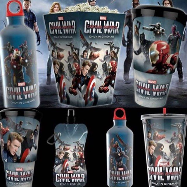 . I'm so gonna get these at the movie theaters!  #Marvel #CaptainAmerica #CaptainAmericaCivilWar #CACW #TeamCaptainAmerica #TeamCap