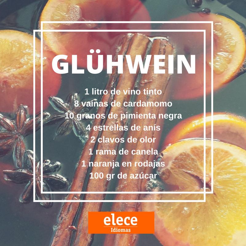 Receta para preparar un fantástico vino caliente alemán.  #glühwein #receta #vinocaliente