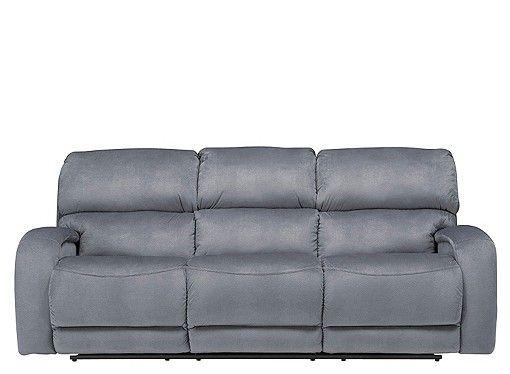 Kelley Microfiber Reclining Sofa Power Reclining Sofa