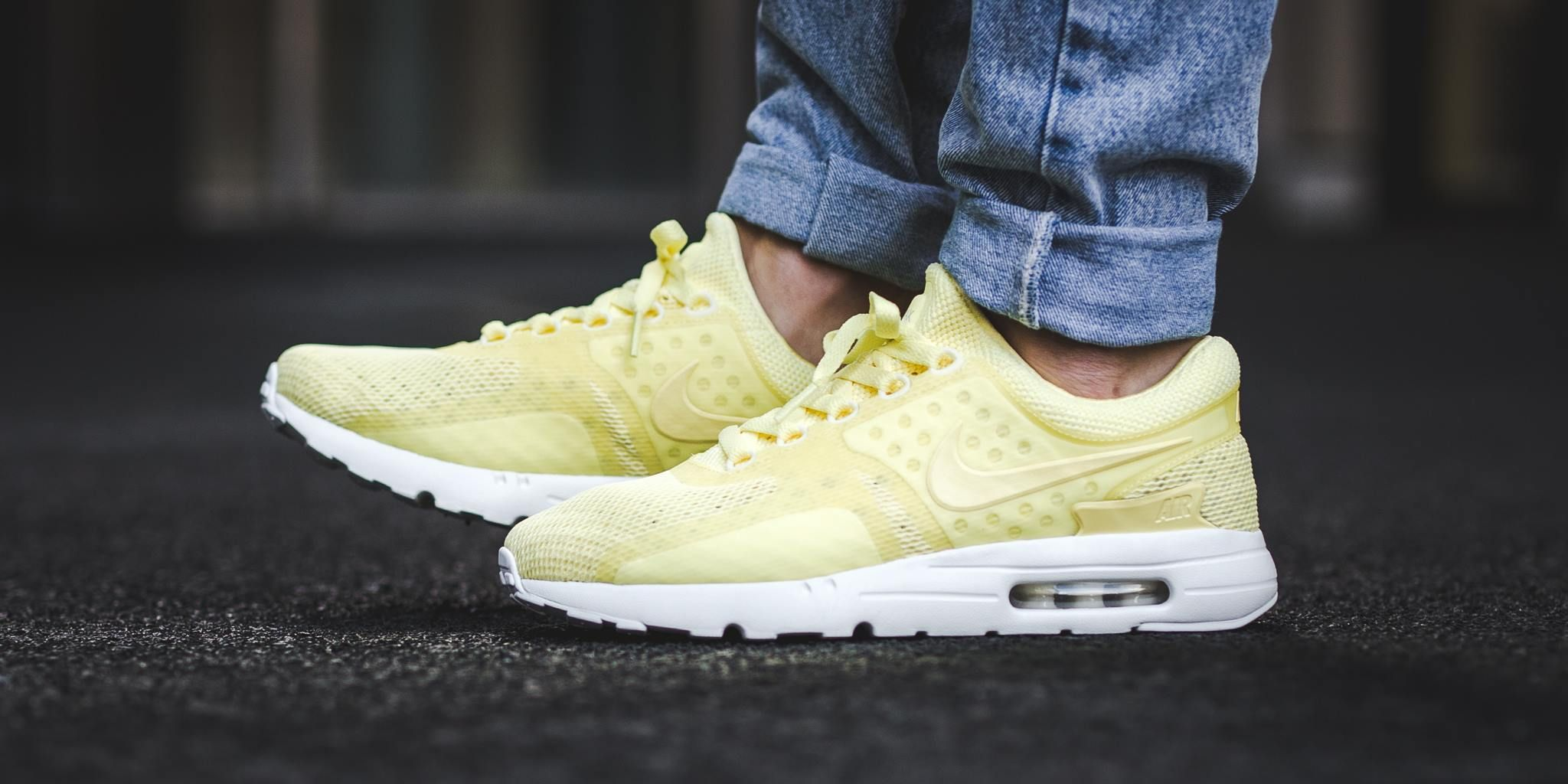 ac84f8c79c Nike Air Max Zero Breathe Lemon Chiffon/White/Light Bone Womens Buy Online