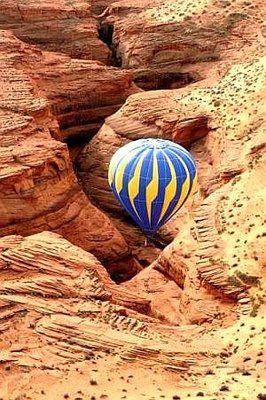 hot air balloon grand canyon # 2