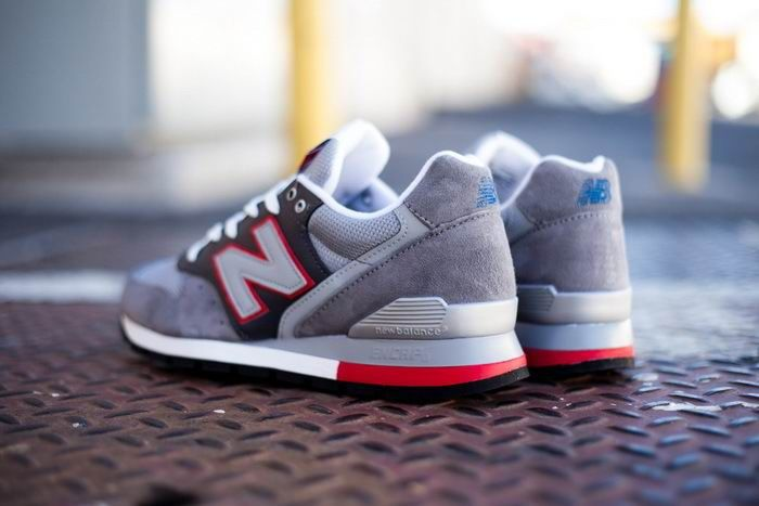 New Balance M996ER 3M classic Gray rouge Homme Chaussures