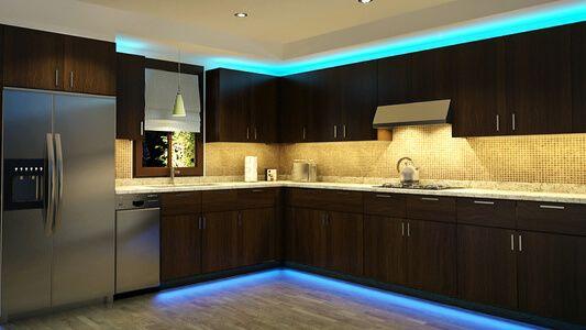 Strip Lights For Kitchen Mood Lighting Kitchen Led Lighting
