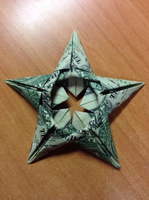 How To Make An Origami Dollar Bulldog | Dollar origami, Money ... | 640x478