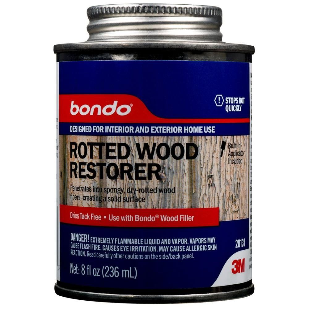 3m 8 Fl Oz Rotted Wood Restorer 20131 With Images Wood