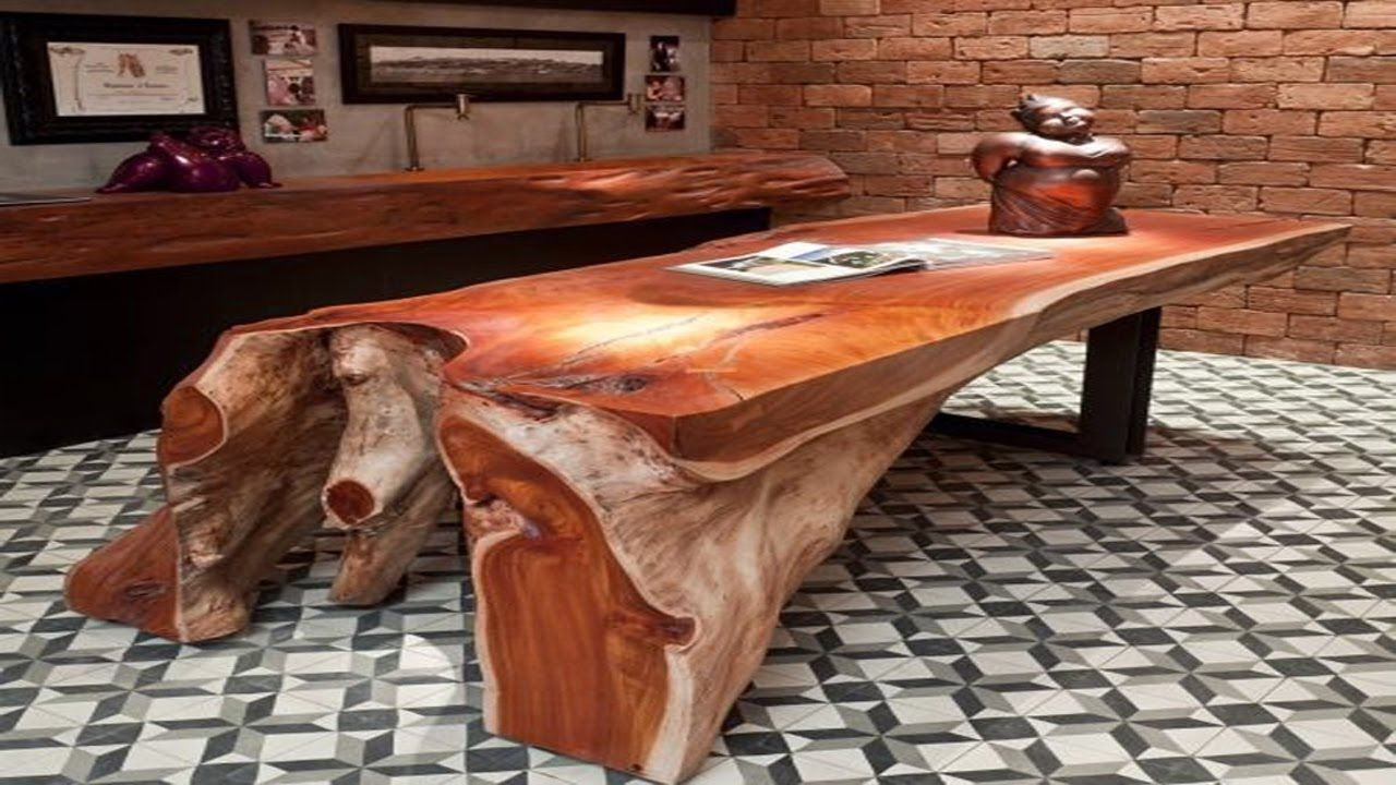 Unusual Wooden Tables Design Interesting Furniture Ideas Holz
