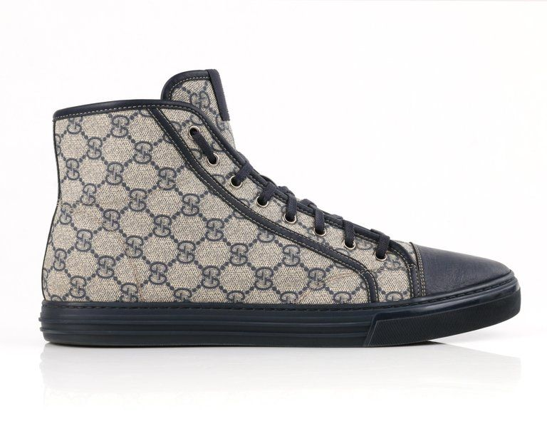 Monogram Canvas High Top Sneakers
