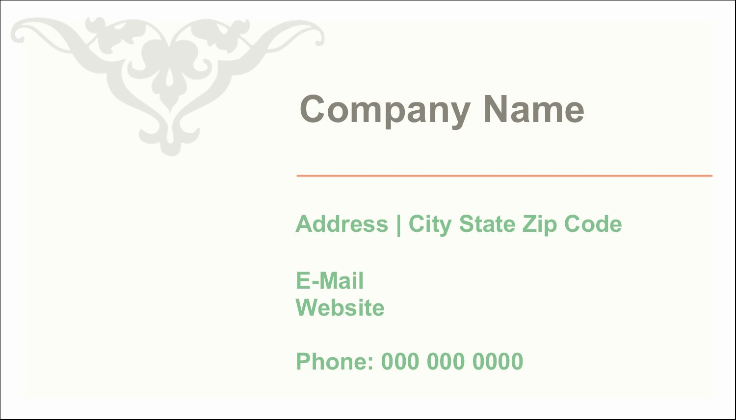 Avery 8875 Business Card Template Luxury Avery Clean Edge Rounded Corner Business Cards 2 Card Template Business Card Template Greeting Card Design