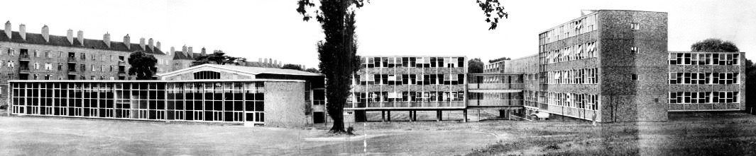 Dick Sheppard School was designed in the manner of an American