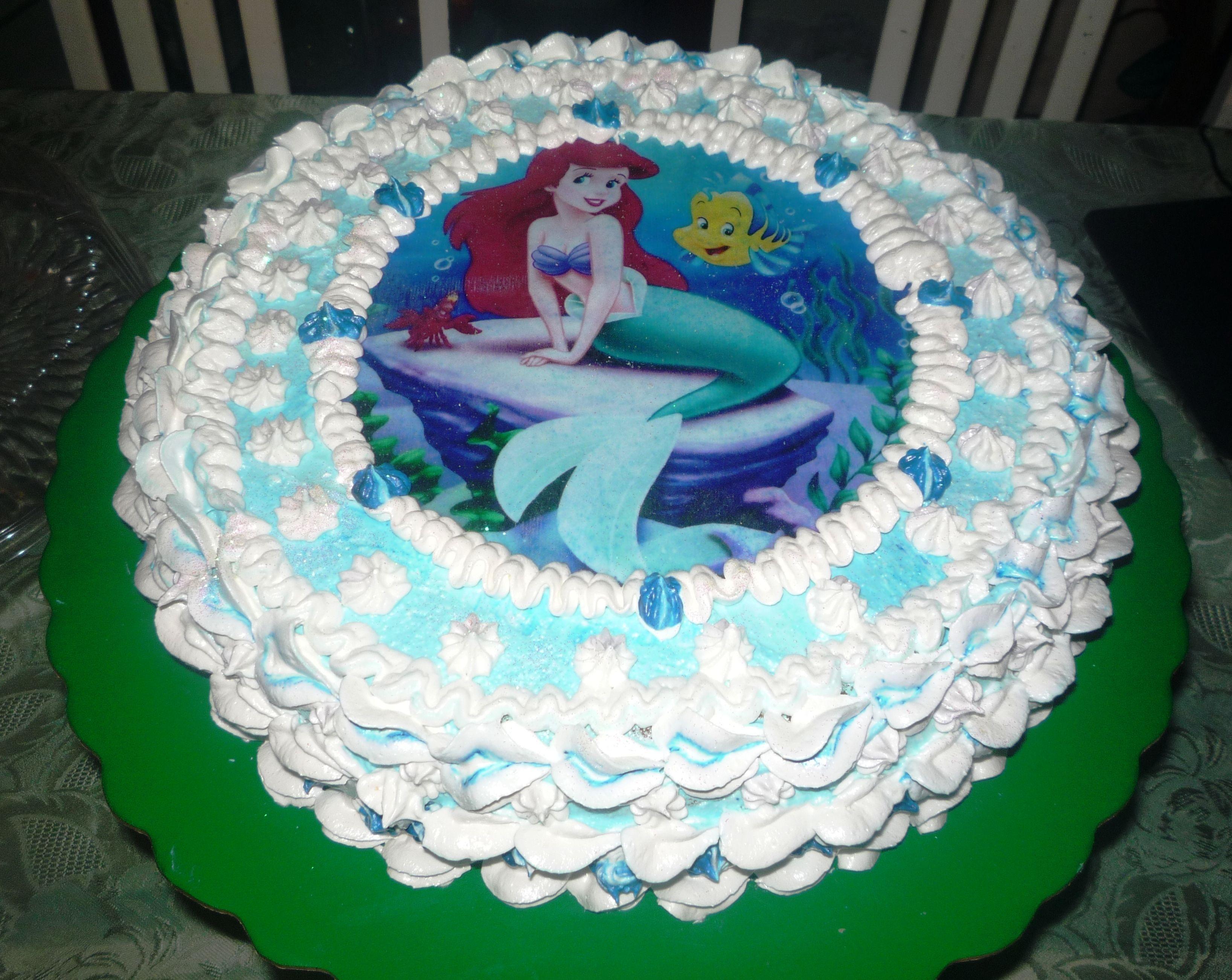 linda torta decorada con merengue italiano | Tortas Infantiles ...