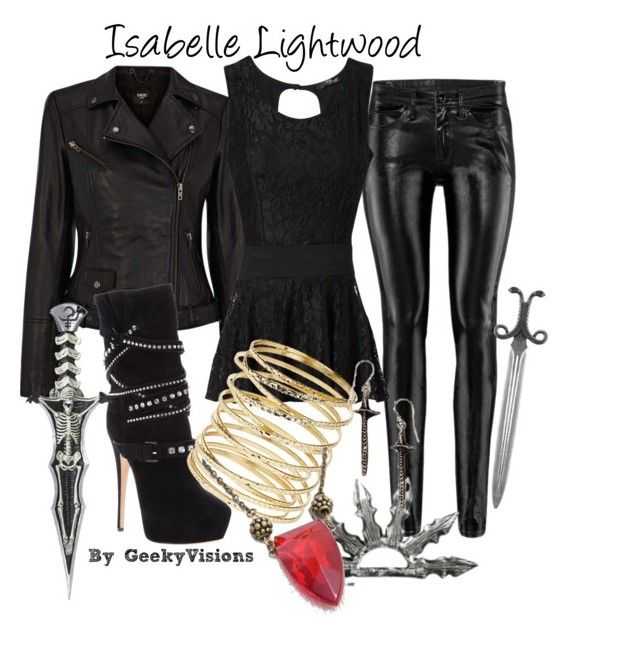 """Isabelle Lightwood"" by kayla-mckenzie-love ❤ liked on Polyvore featuring Oasis, H&M, Jane Norman, Casadei, Dorothy Perkins, mortal instruments, isabelle lightwood, tmi and city of bones"