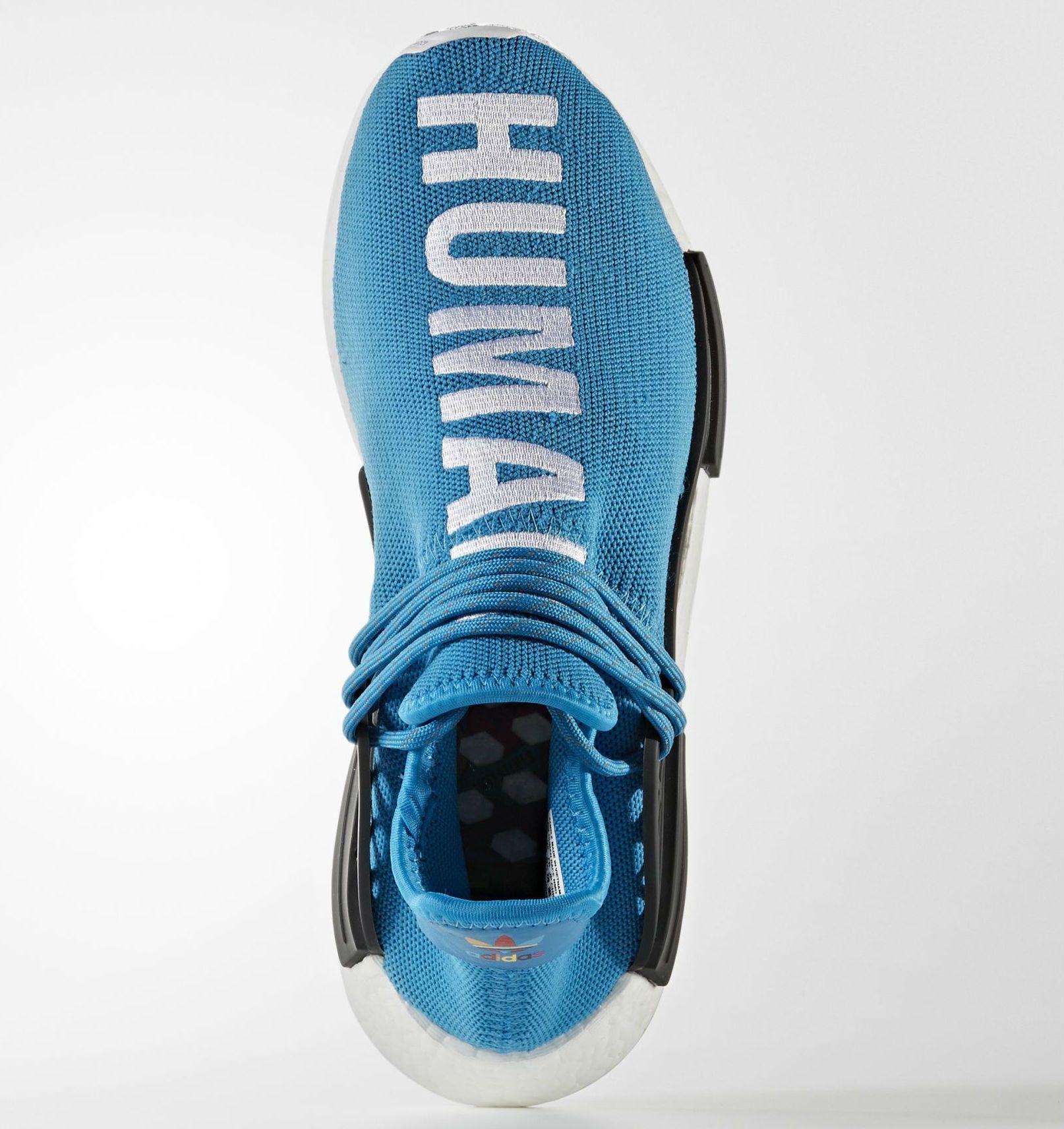 Azul Pharrell Adidas NMD raza humana Top frnts Pinterest adidas