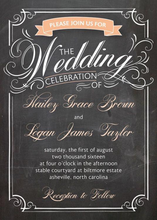 Simple Informal Wedding Invite   Google Search