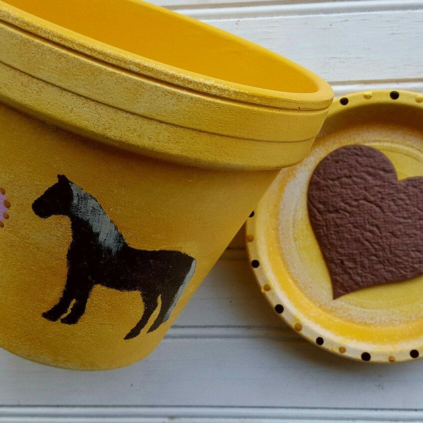 Give the perfect gift for your favorite horse lover! HappyMooseGardenArt.Etsy.com
