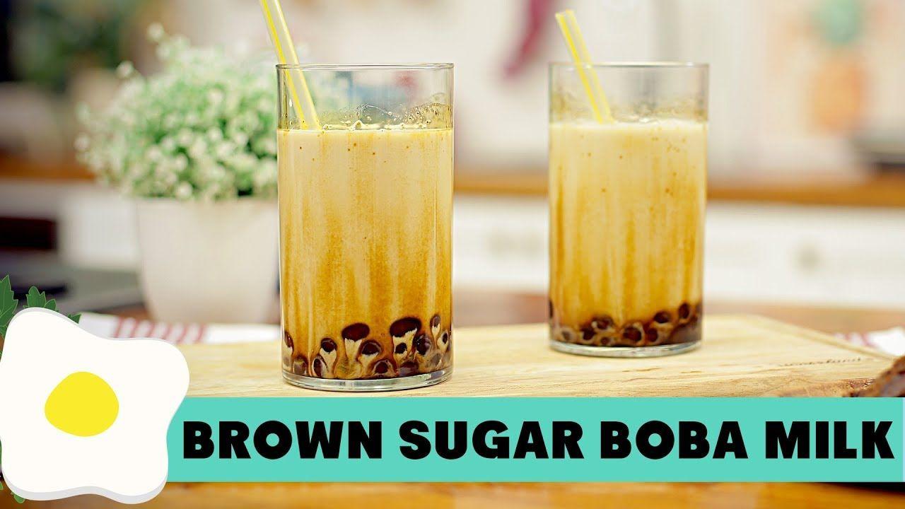 Resep Brown Sugar Boba Milk Bubble Tea Resep Minuman Minuman