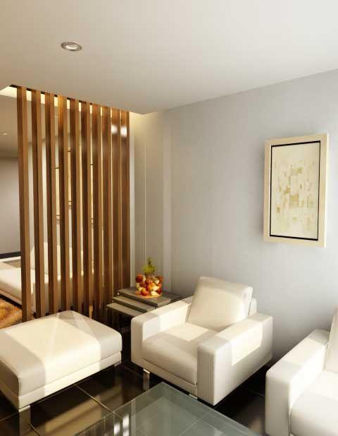 Desain Ruang Tamu Mungil Dengan Gambar