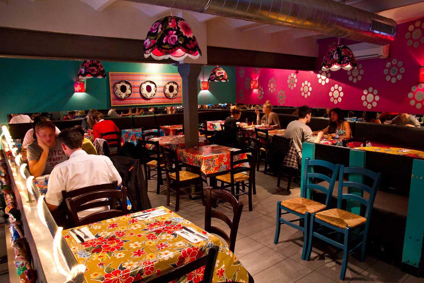 La rosa negra mexican restaurant in barcelona