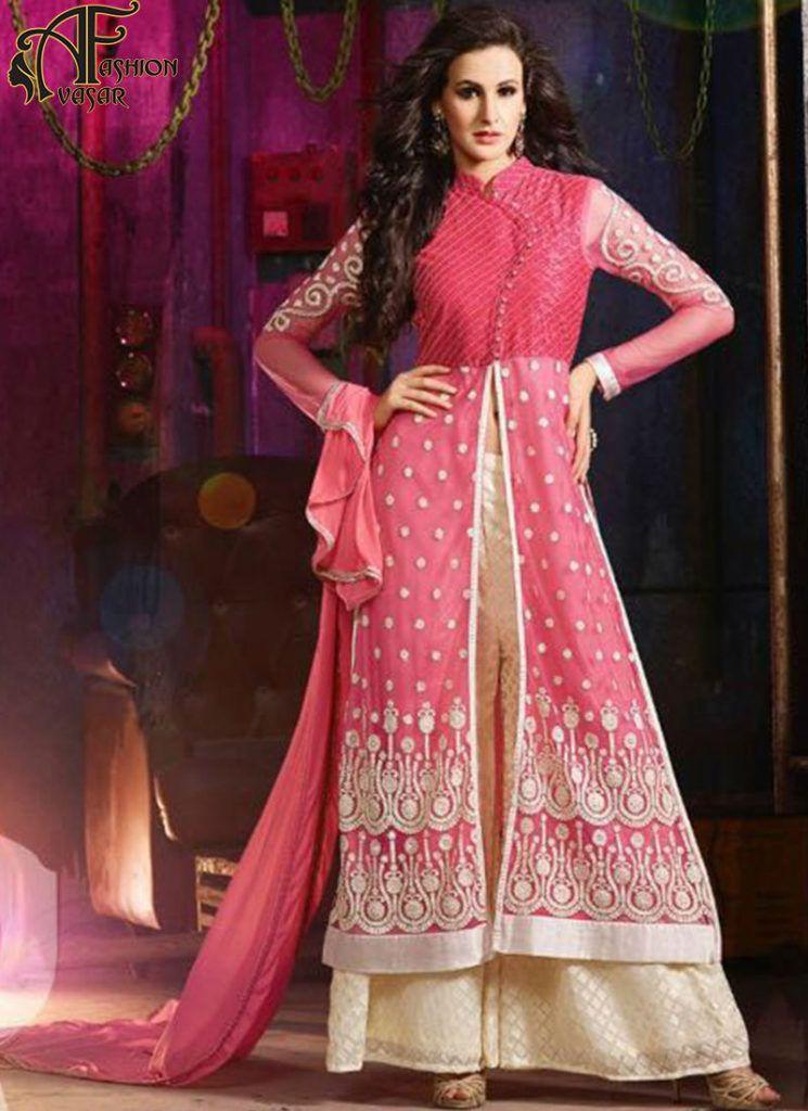 silk net salwar suits online – indian embroidery designer salwar ...
