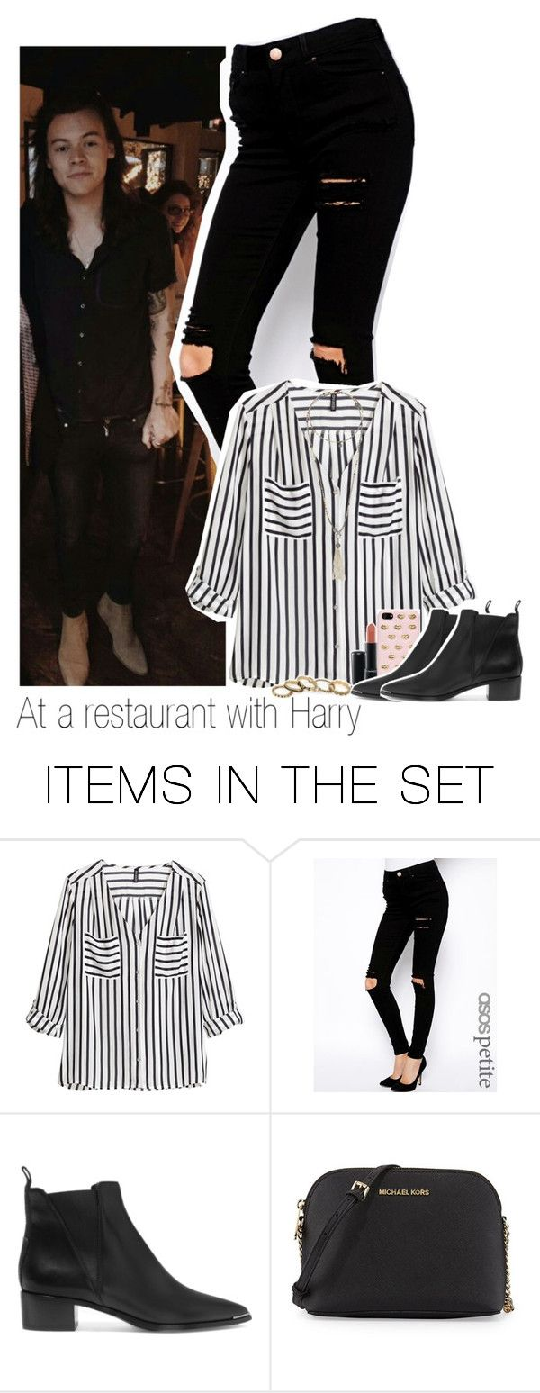 """""""At a restaurant with Harry"""" by beatriz69malik ❤ liked on Polyvore featuring art"""