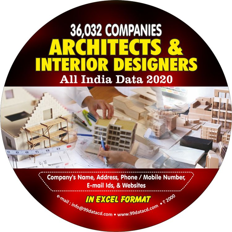 Architect And Interior Designer Segment Of Professionals Serve The Wider Section Of Business And Industry People So To Provide In 2020 Design Architect Business Data