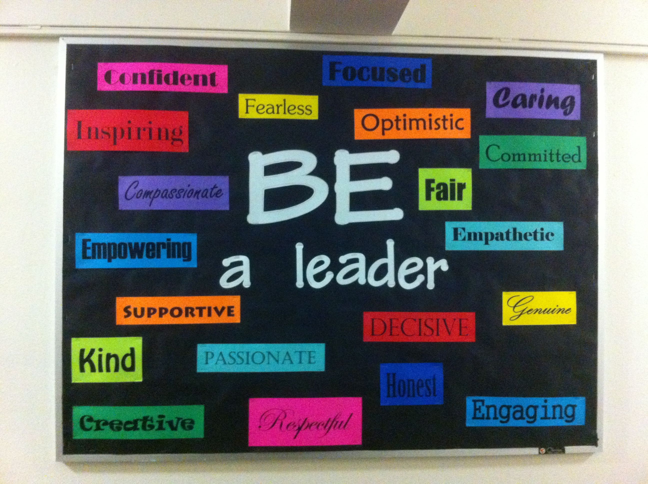 best ideas about leadership bulletin boards bulletin board traits residents described for a good leader bulletin boards resident advisor