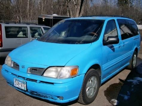2002 Oldsmobile Silhouette Gl Minivan For Only 995 Near Minneapolis Mn