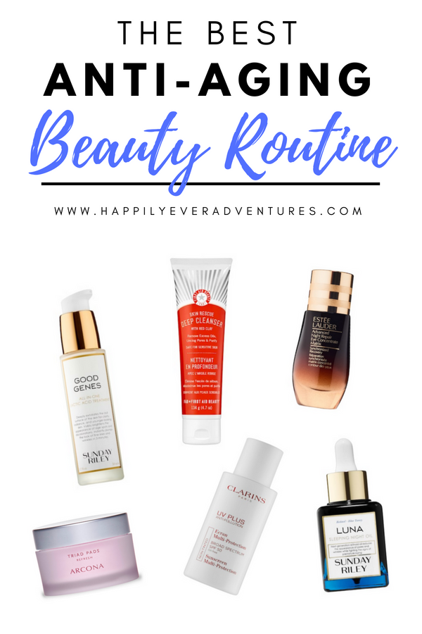 My Current Anti Aging Skin Care Routine For Glowing Skin Skin Care Treatments Natural Skin Care Treatment Anti Aging Skin Products