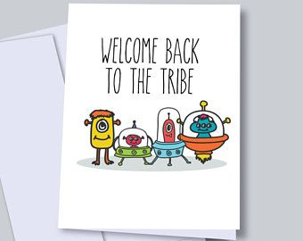 Alien welcome home cards welcome back dad greeting cards funny alien welcome home cards welcome back dad greeting cards funny welcome cards for friends m4hsunfo