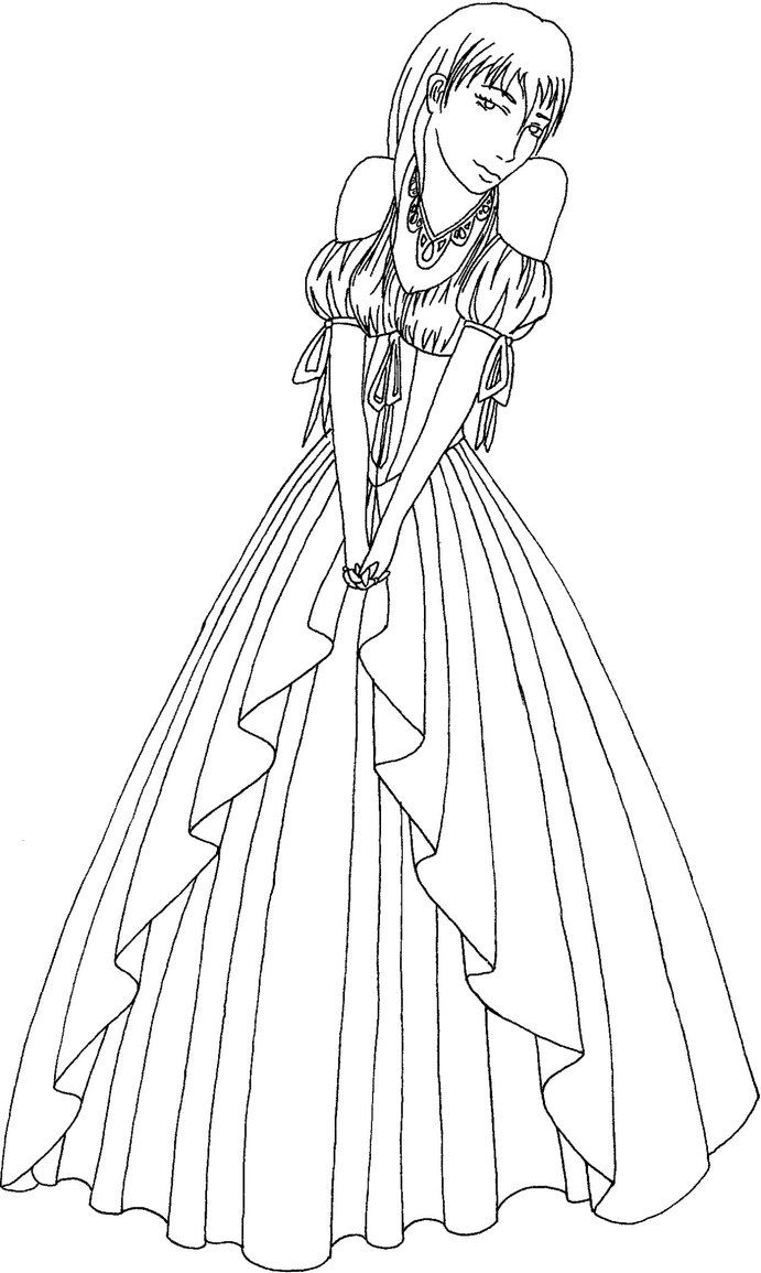780 Coloring Pages Ball Gowns For Free