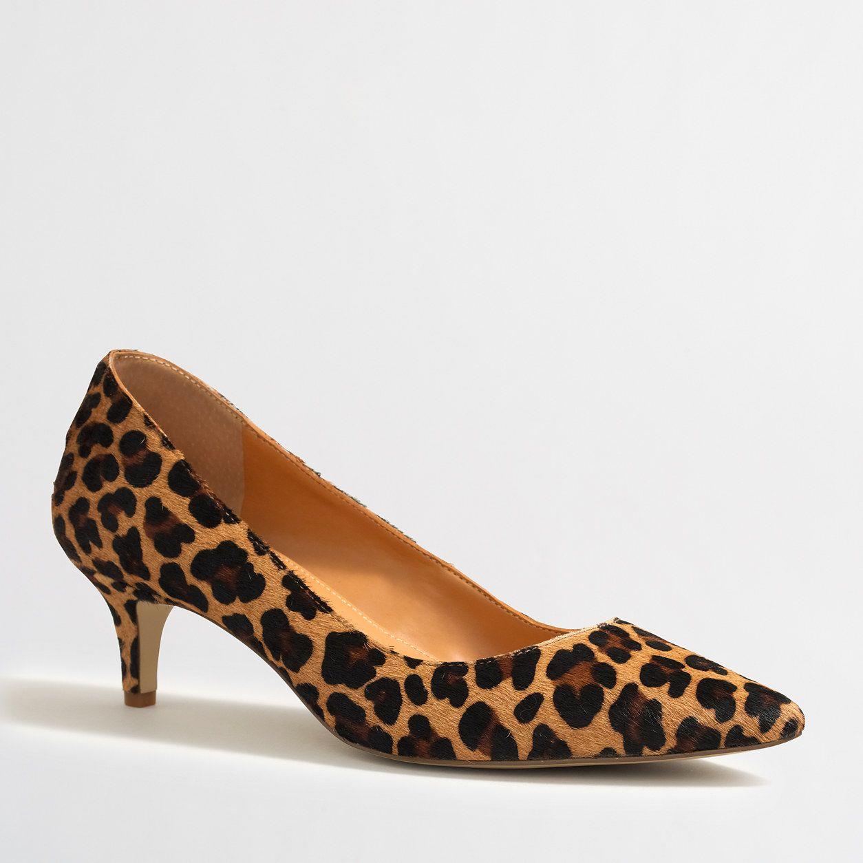 Esme leopard calf hair kitten heels : FactoryWomen Occasion | Factory