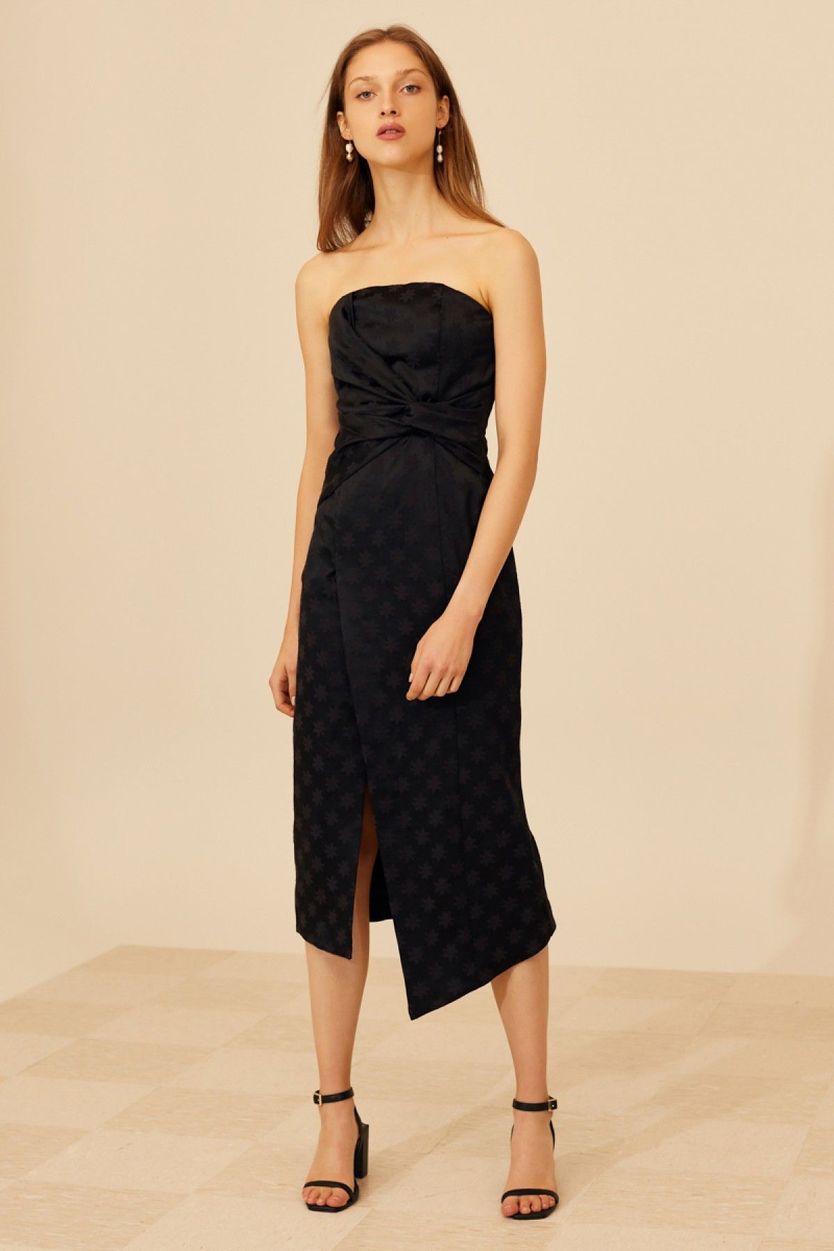 Elate Midi Dress Black C Meo Collective Bnkr Dresses Buy Midi Dress Ball Dresses [ 1800 x 1200 Pixel ]