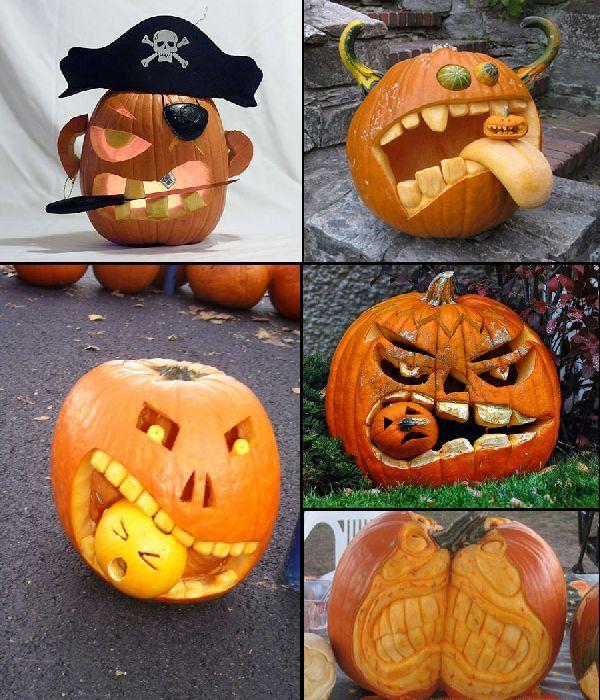 Cool Decorating Ideas 187 Halloween Pumpkin Decorations Ideas and - halloween pumpkin painting ideas