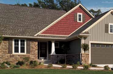 Cedar Impressions Siding In Autumn Red Is Sure To Make An
