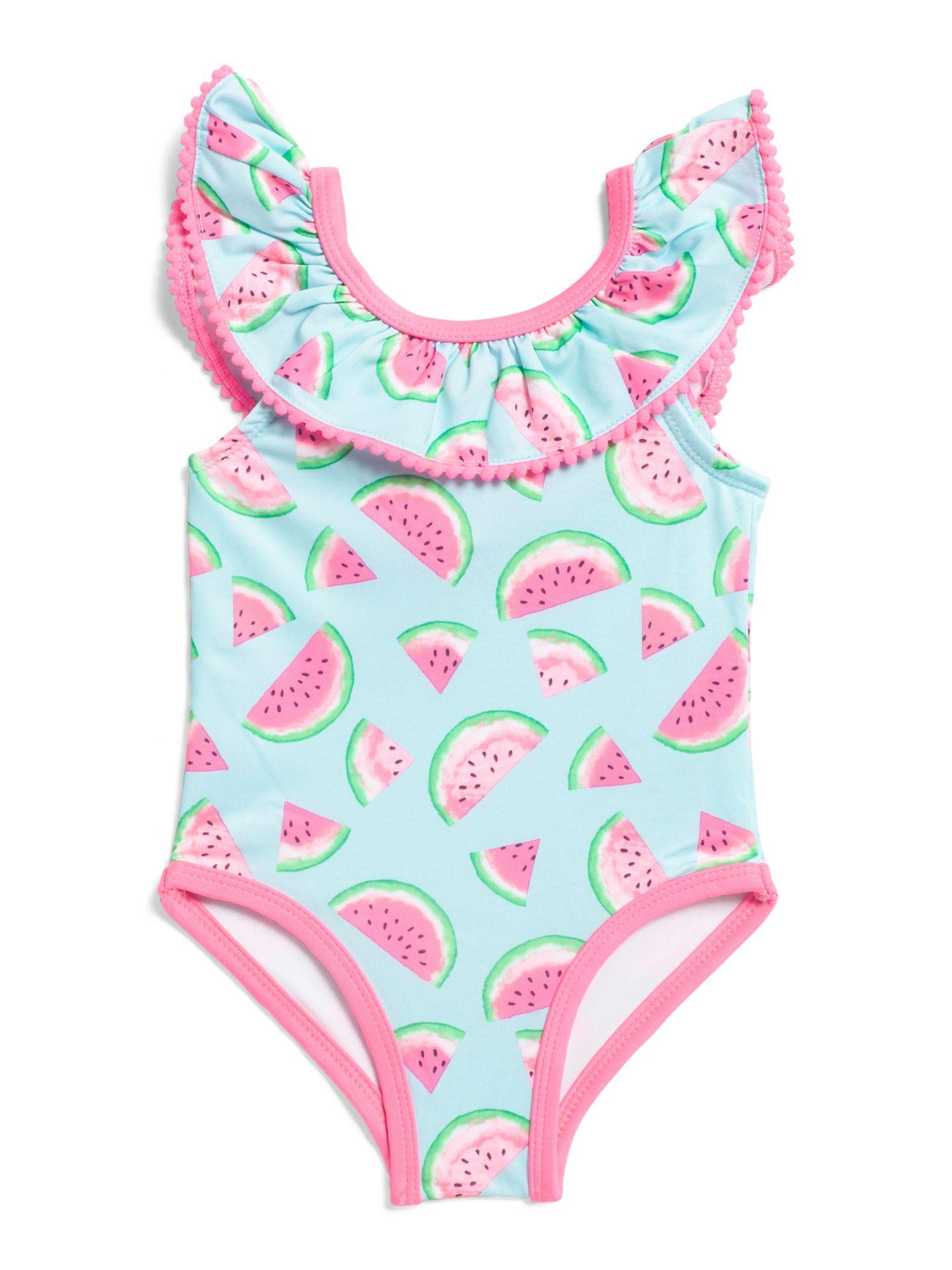 b974638078c2a Toddler Girls Watermelon One-piece Swimsuit - New Arrivals - T.J.Maxx