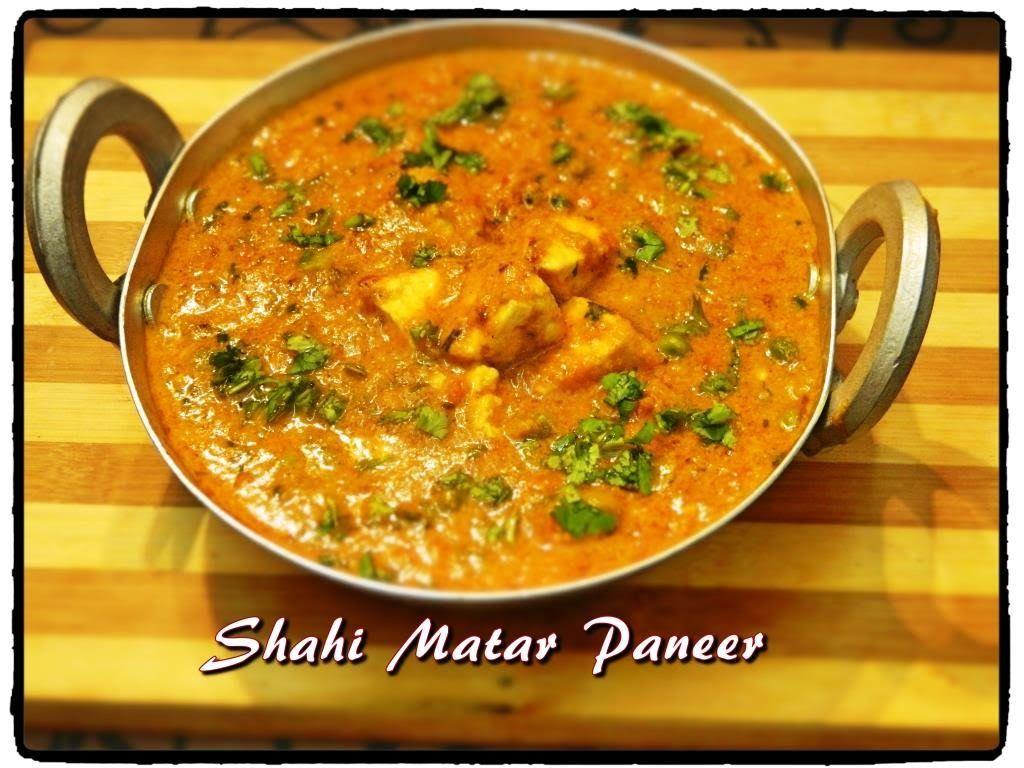 recipe: aloo matar paneer (simmered potatoes with peas and paneer) [24]