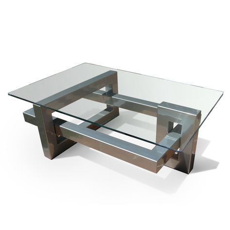 Abstract Coffee Table Finished In Lacquered Iron Dimensions 130
