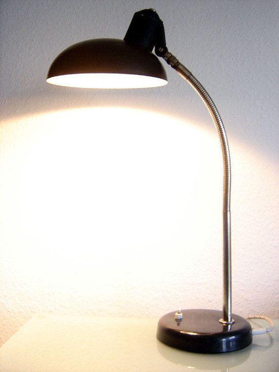 Rare Bauhaus Modernist Sis Table Lamp Desk Light 1930s Etsy Unique Light Fixtures Lamp Table Lamp