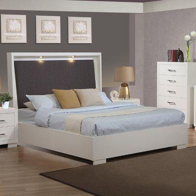 Wildon Home ® Jessica Wingback Bed | Dormitorio | Pinterest | Dormitorio