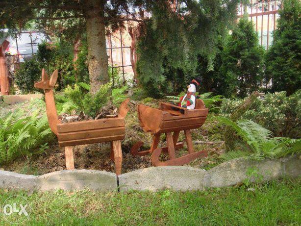 sanie Ozdoby świąteczne nr.40 renifer łoś Święty Mikołaj Luboń - image 3