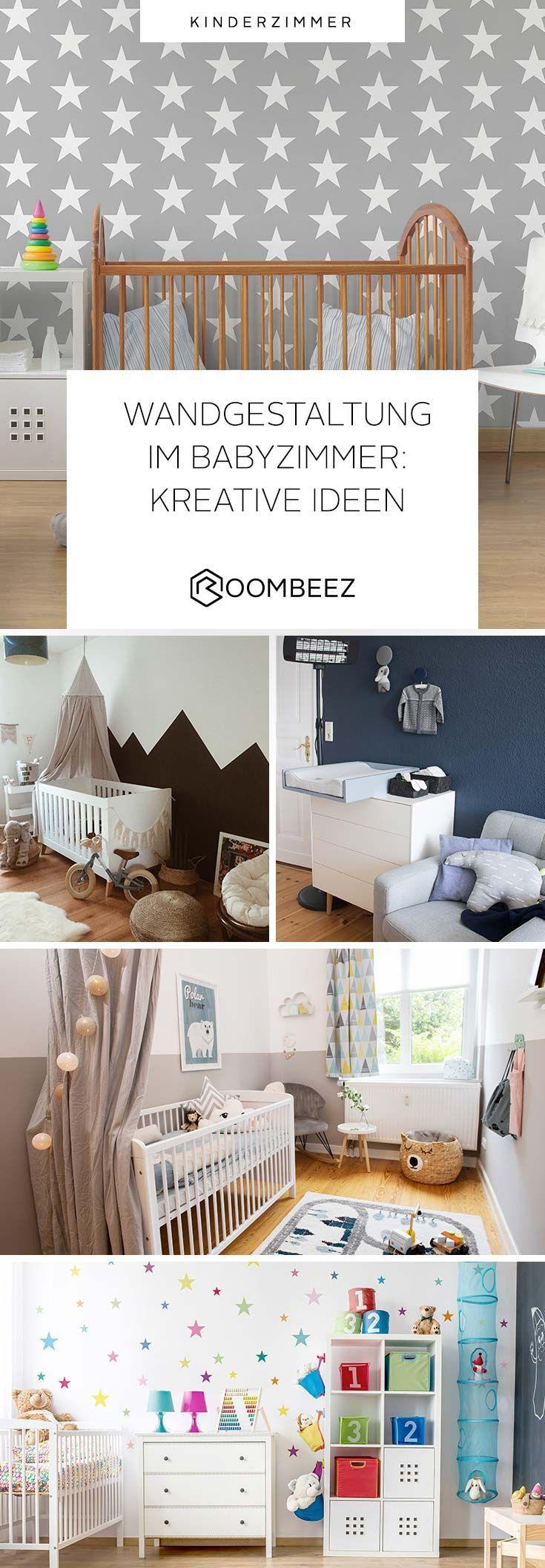 Wandgestaltung Babyzimmer