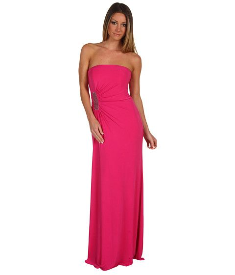 669affa603 Laundry by Shelli Segal Waterfall Draped Gown