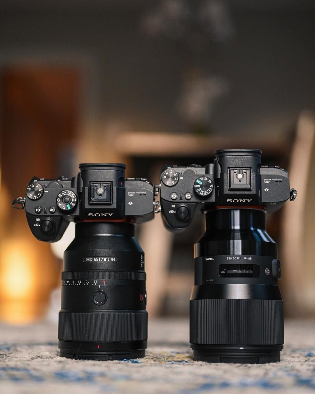 This Is What The New Sony 135mm 1 8 And The Sigma 135mm 1 8 Look Like Next To Each Other I Ll Be Compari Camera Photography Photography Camera Vlogging Camera